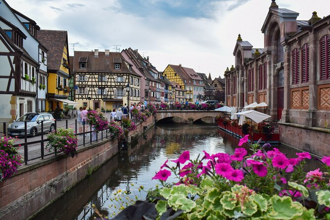 Colmar is a photographer's dream, with its labyrinth of cobbled lanes, flower-lined canals, and timber-framed houses painted in a rainbow of pastel hues. It's the quintessential Alsatian town, brimming with traditional restaurants and surrounded by vineyards and medieval castles. Our fun and entertaining guide will make this a memorable experience for you. It is one of the best experiences to immerse yourself into the rich french culture.
