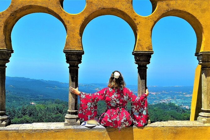 Enjoy a guided visit inside Pena Palace.<br><br>Explore the UNESCO World Heritage Site of Sintra.<br><br>Get stunning views of the Atlantic Ocean from Cabo da Roca.<br><br>Visit the charming seaside town of Cascais.<br><br>See the largest casino in Europe.<br>In times which call for extraordinary measures, rest assured our Team at Tugatrips - Safe and clean certified enterprise – has taken all measures to give you the confidence so that you and your loved ones can enjoy a relaxing experience!