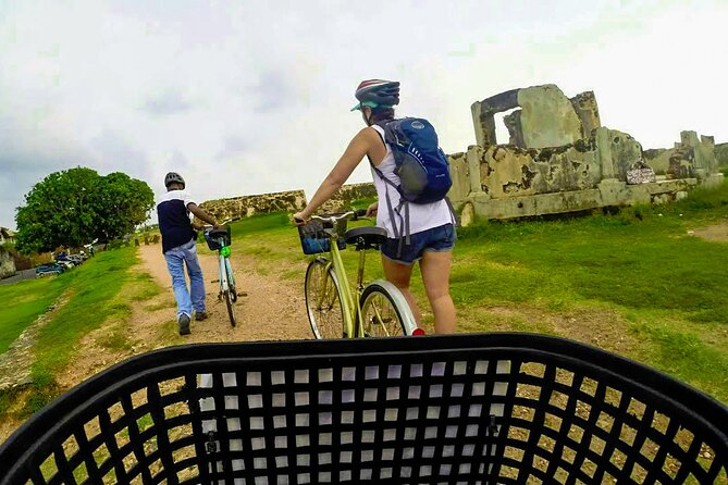 Cycling in Galle Fort, Galle, SRI LANKA