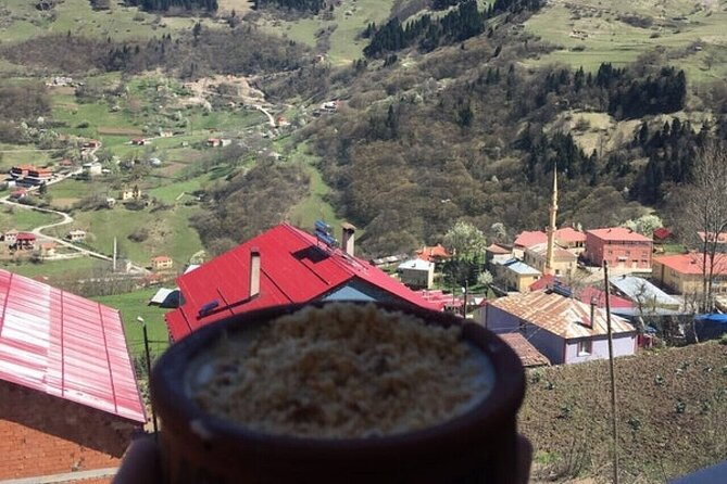 Mountain, Village and Cave in one shot tour. Unique natural sites and picturesque spots. Rice pudding taste of the famous Hamsikoy. Private friendly tour guide. Pick up and Drop off with A/C modern car.