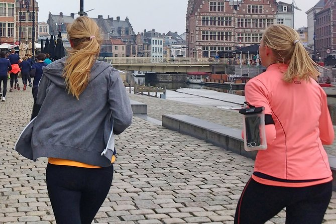 Small-Group Running Tour in Ghent, Gante, BELGICA