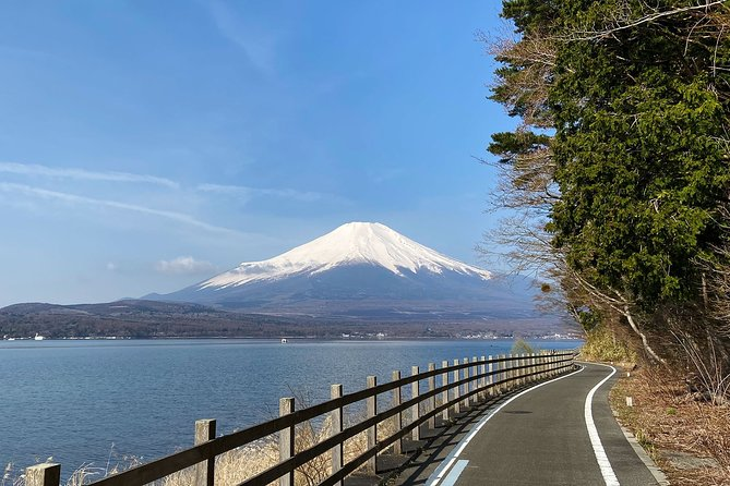 Visit the most scenic places in Japan's celebrated Fuji-Hakone-Izu National Park, starting with Mt Fuji. Experience the thrill of biking down the mountain and around three lakes in its foothills with spectacular views. Explore a traditional artisans' village, marvelous temples and flower gardens.<br><br>Spend the second day of the tour taking in the beauty of the famous Hakone area. Visit a shrine whose iconic red gates rise out of a lake. Stop for a snack and drink at a teahouse on the historic Old Tokaido Road. Relax after the ride at one of Japan's most elegant hot spring bathhouses. <br><br>Discover the dramatic coastline of the Izu Peninsula on the third day of the tour. Pine trees and tropical flowers frame outstanding views of aquamarine bays, secluded beaches and distant islands. Bike lovely country roads that lead to picturesque terraced rice fields and farmhouses. A hot spring by the sea offers a soothing end to this unforgettable three-day journey on Japan's most enchanting routes.