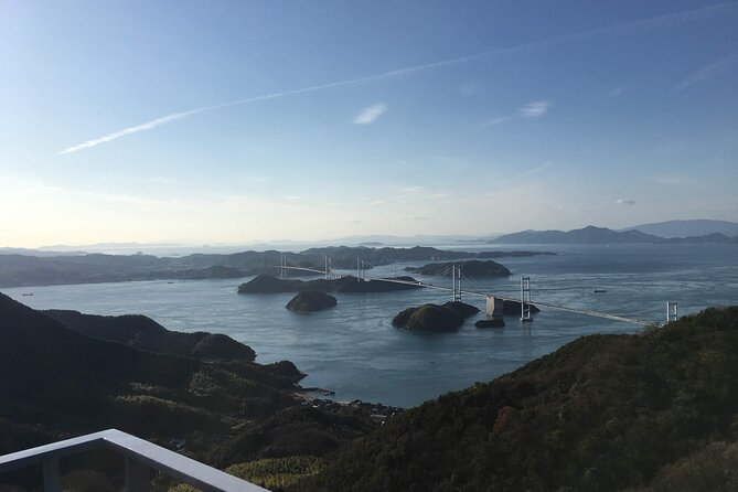 【OUTLINE】<br>This is a one-day guided tour of Shimanami Kaido (about 35km) on an E-bike. You will travel from Imabari to Omishima.<br><br>【HIGHLIGHTS】<br>・Take a one-way guided tour from Imabari to Omishima (about 35km).<br>・Pass through Imabari / Oshima / Hakatajima and finish in the middle of the Shimanami Kaido, Omishima.<br>・Tour of beautiful photo spots with local guides.