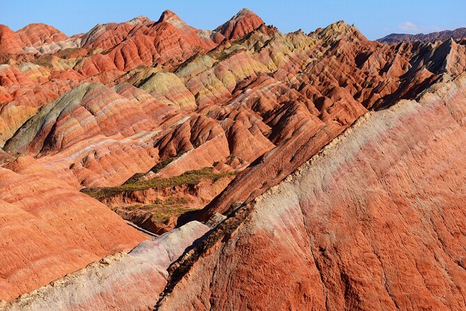 As a global geo-park, Zhangye Danxia Landform Geological Park this best representative of China's colorful Danxia landforms is covered in the tour. It will also take you to the Mati Temple and Giant Buddha Temple, which is well known for the remains of China's biggest indoor sculpture of Nirvana Buddha.