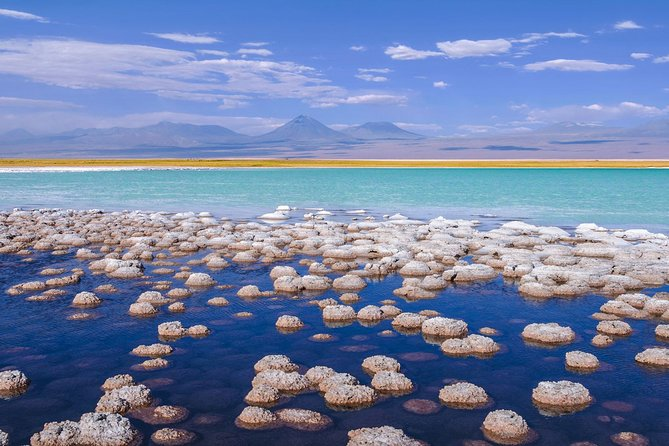 We invite you to enjoy the clearest skies, the driest desert, and the most spectacular landscapes gathered in one place. <br>Through this package of 5 days and 4 nights you will explore San Pedro de Atacama and its surroundings in a magical and special way.<br><br>Join us on this adventure to visit the Salar de Atacama, the largest salt deposit in Chile, and the Valle de la Luna with its landscapes that look like from another world. We will explore the Geysers del Tatio, the largest group of geysers in the southern hemisphere and enjoy floating in the altiplanic lagoons. We will also have the unique opportunity to enjoy a sunset in the Salar de Atacama, seeing how this incredible landscape is modified with the last rays of the sun.