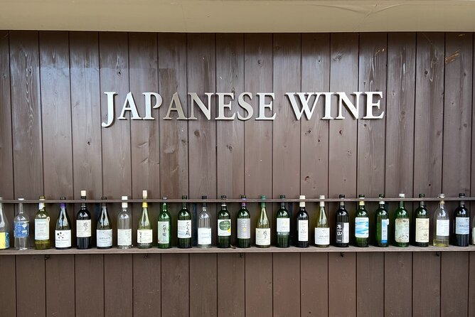 In this half-day tour by private car, our guides bring you to Katsunuma, in the picturesque Koshu Valley near Mt Fuji, where most of Japan's wine is produced. There, at two award-winning wineries, you'll enjoy tasting delicious wines made from not only Western grapes but also the indigenous Koshu variety for which Japanese winemaking is best known.<br><br>Between wine tastings, our guides bring you to vista points where you'll have magnificent views of undulating hills, the majestic shores of Lake Kawaguchiko and Mt Fuji.<br><br>This tour is accessible and fun regardless of your level of experience with wine. It's an excellent choice for your vacation or as a gift to family or friends.<br><br>Unlike our other tours, there is no bike riding during this tour.<br><br>Your guides will be native English speakers who also speak and read some Japanese.