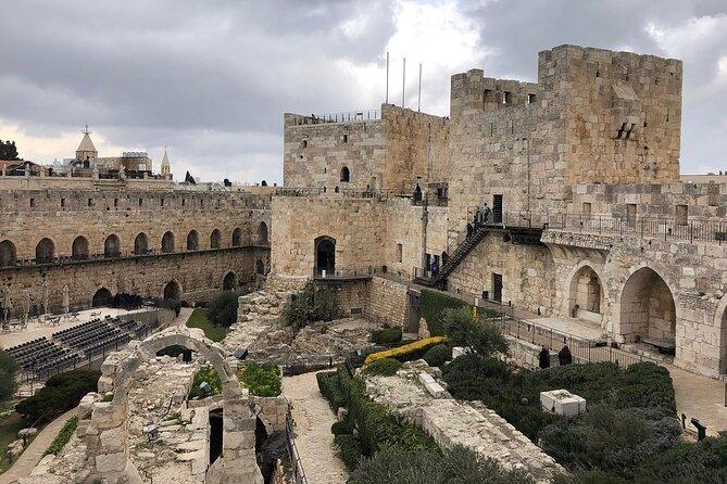 Skip the Line: Tower of David Museum Ticket, Jerusalen, ISRAEL