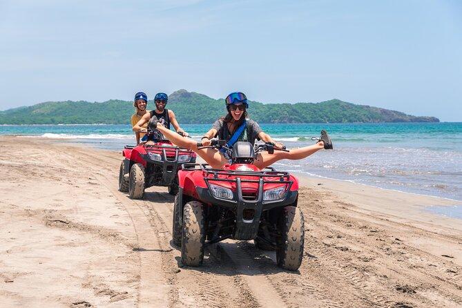 2.5 Hours Tamarindo ATV Snorkel Tour to Secluded Beaches, Playa Flamingo, COSTA RICA