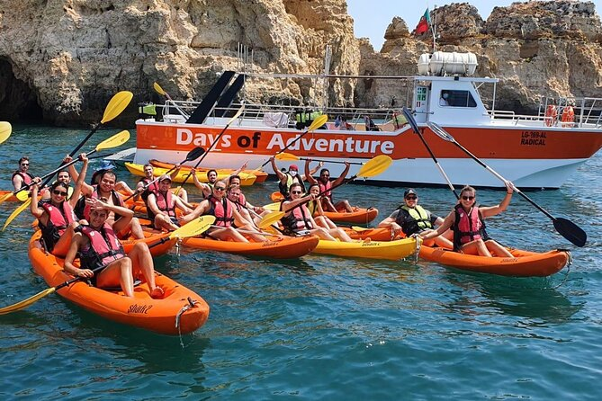 MAIS FOTOS, Kayak Adventure to go inside Ponta da Piedade Caves/Grottos and see the Beaches