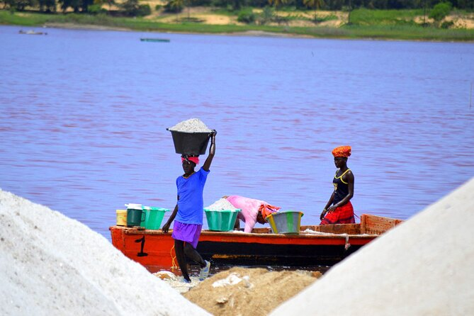 Full-Day PINK LAKE and FISHING VILLAGE combination, ,