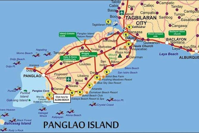 Shared Panglao Airport Transfer to Alona Beach Area, Ciudad de Tagbilaran, FILIPINAS