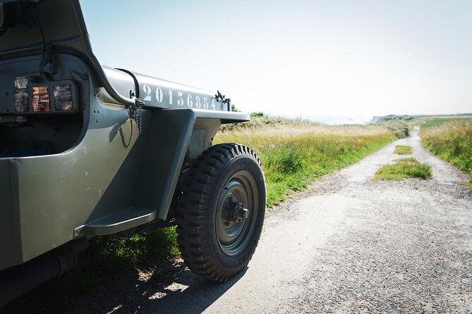 Normandy WW2 British Jeep Tour, Bayeux, FRANCIA