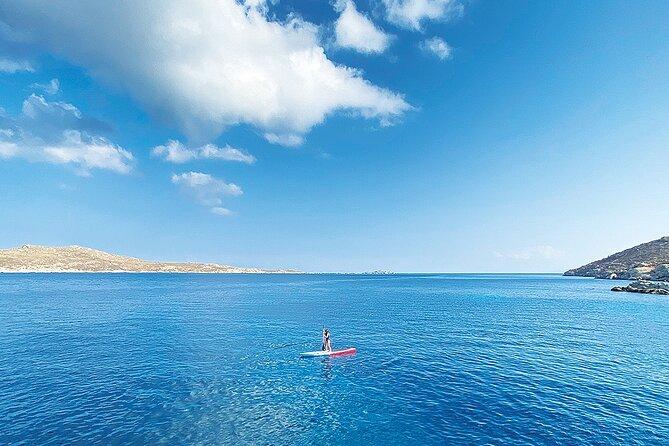 MÁS FOTOS, Excursión en Barco a Isla de Rhenia con Parada para Nadar