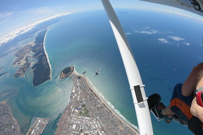 12,000ft Tandem Skydive, Tauranga, NOVA ZELÂNDIA