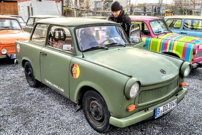 2 hour 15 min Berlin Wall Self Drive Trabant Tour, Berlim, Alemanha