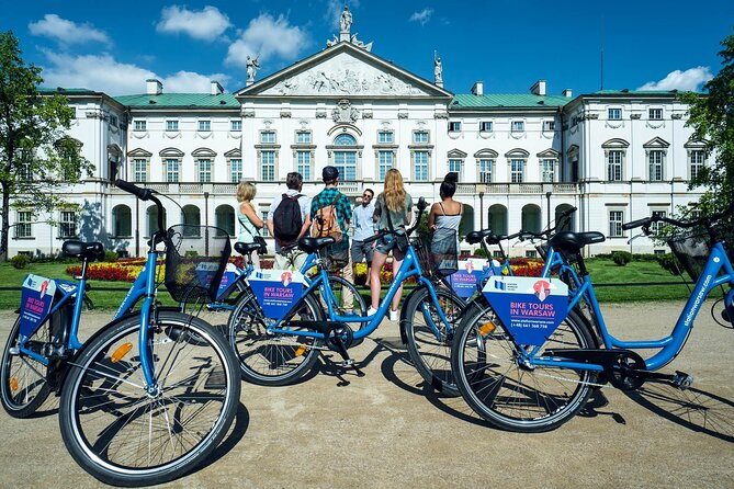 Half-Day Warsaw City Sightseeing Bike Tour for Small Group, Varsóvia, POLÔNIA