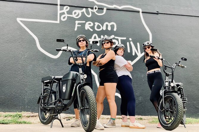 You can be a part of an e-bike biker gang! Our e-bikes are fun and super easy to ride. See the sights and have a blast! We believe that riding is more fun with others, so add another e-bike so your friend can ride along with you!<br>