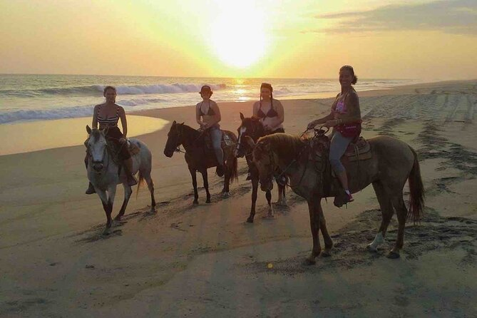 Beach Horseback Riding Excursion (3 hours) in Mazunte, La Ventanilla, Puerto Escondido, MÉXICO
