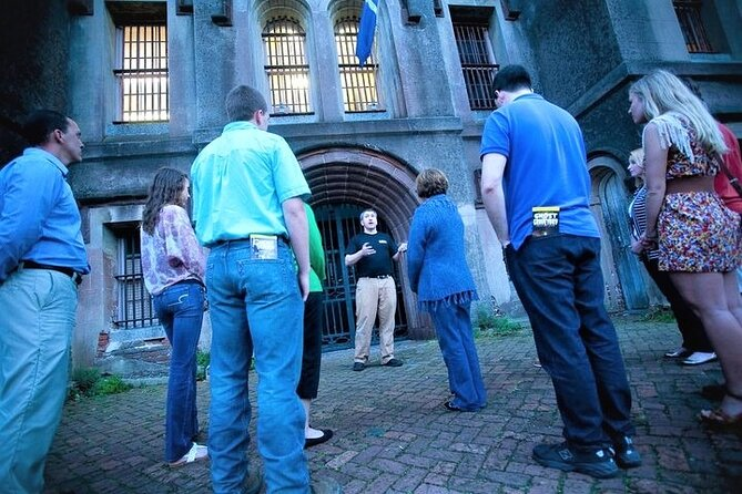 Join us for a behind-the-scenes tour of the Old Charleston City Jail, which housed some of Charleston's most infamous criminals, 19th-century pirates, and Civil War prisoners. The Old City Jail was in operation from 1802 until 1939, and most of the building's original structures like the cells and warden's quarters still remain intact.
