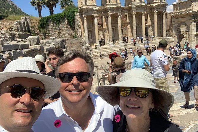 Enjoy a guided excursion from Kusadasi cruise port to ancient Ephesus, the richest and most excavated classical city in Turkey. Visit the Artemis Temple, one of the 7 Wonders of the Ancient World.