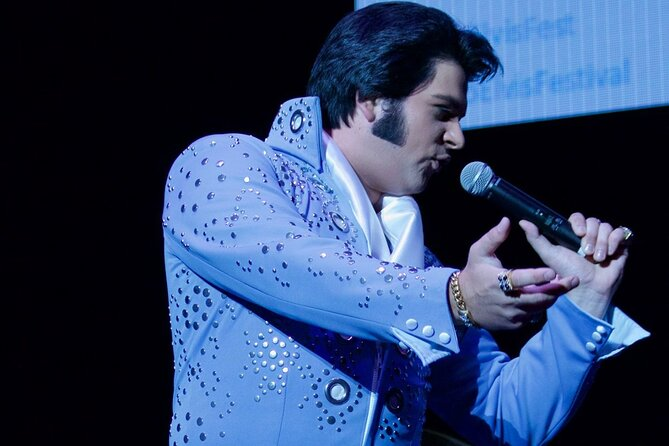 """Come relive the magic and charisma of the concert years of Elvis Presley! In 1969 the """"King of Rock & Roll"""" returned to the concert stage in Las Vegas after a 10-year movie career. Performed by multi-award-winning tribute artist Alex Mitchell, this concert will take you through a vast catalog of """"The King's"""" greatest hits including; """"Teddy Bear"""", """"Suspicious Minds"""", """"All Shook Up"""", """"The Wonder of You"""" & many more!<br><br>Immerse yourself in the ultimate Elvis Tribute Show on the east coast. Alex Mitchell brings Elvis to life on stage with his looks and incredible electrifying performance as the King of Rock n' Roll. You will enjoy his shake and rattle as he rolls out hit after hit during this live performance of the Elvis Concert Years."""