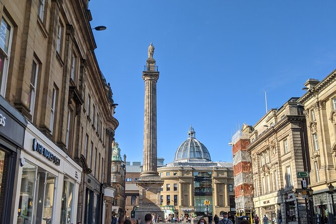 Immerse yourself in Newcastle's rich past and handsome architecture on a two-hour walking tour of its historical highlights. Learn about the city's Roman, Norman and mercantile history. Admire Grey's Monument, Grey Street and the Castle Keep. Hear about the Victorian entrepreneurs who made Newcastle a powerhouse of the Industrial Revolution. And take in the revamped Quayside, where cutting-edge venues overlook the River Tyne. <br><br>Every step of the way, you'll absorb the city's vibrant atmosphere, rooted in the famously friendly natures of the 'Geordie' locals. <br><br>What 3 Words starting location: ///rotate.angel.monks<br>