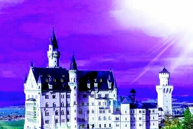 "♧|♧ Best for avoiding crowds!<br><br>TRAVEL*SAFE & WITH CONFIDENCE: <br>MORE ABOUT OUR COVID-19 PRECAUTIONS IN<br>""Addit. Info""<br><br>NEUSCHWANSTEIN CASTLE - a dream destination for tourists from all over the world - ... in times of Corona! Due to the comprehensive COVID-19 safety measures of the castle administration (reduction of the number of visitors by 83% to only 10 people per tour!) it is currently often impossible to get tickets at the desired date.<br><br>On this private full-day tour you will receive - even at short notice - GUARANTEED SKIP-THE-LINE ADMISSION for the guided castle tour, which you can experience virtually EXCLUSIVELY due to the small groups of visitors!<br><br>From the very beginning, you will be accompanied by your personal licensed tour guide, who is of course familiar with the current situation. So all you need to do is ENJOY this day!<br><br>You can also enjoy the entertaining & informative ride in our new & comfortable Volkswagen-Minivan, where we can visit a wealth of other attractions."
