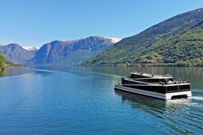 "This is a legendary tour, goes all year round and will take you through some of the most beautiful landscapes in Norway. The tour includes a private vehicle, a local English speaking guide, Premium Fjord Cruise and train journeys on Flåm Railway and Bergen Railway. <br><br>After pick-up in Bergen we start the journey to Gudvangen and in the summer months we drive through Stalheimskleiva, the 1,5 km long road section that winds down Nærøydalen valley from Stalheim. Well ahead in Gudvangen we board the electric ship ""Future of the fjords"" to Flåm. The Nærøyfjord is surrounded by high mountains and is a beautiful sight both in summer and winter. From Flåm, the tour continues with the dramatic and world famous Flåm Railway. The train ride gives you a panoramic view of some of the wildest and most magnificent of Norwegian mountain nature.. At Myrdal station, a train changes to the Bergen Railway which takes you to Voss where you are picked up and the car will take you back to Bergen.<br><br>​<br>"