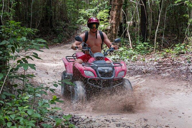 MÁS FOTOS, ATV Mud Kicking & Beach Club Chill by Tortugas Cozumel® (Privado)