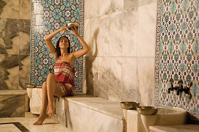 Experience a traditional Turkish bath while you visit Belek. This package that takes approximately 2.5 hours included pick up service from the hotels in Belek , Bogazkent and Serik.