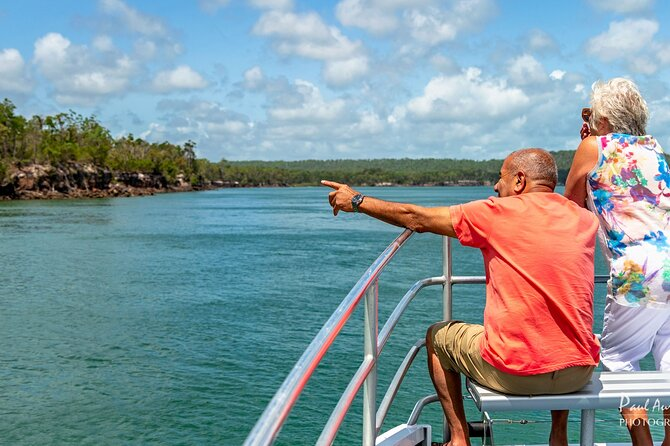 Available from November to June our Sandy Straits Scenic & Wildlife cruise takes you on a 5hr, relaxing jaunt through the pristine waters of the Great Sandy Straits. We'll visit cultural and historic destinations such as; Woody Island, North White Cliffs, Ungowa and Garry's Anchorage (located approximately half -way to Tin Can Bay). All whilst keeping our eyes peeled for the abundance of wildlife that frequents the area and maybe the elusive Fraser Island Dingo or dugong!<br><br>Experience the beauty of the area as we cruise past swathes of mangrove, sand cliffs and sand flats abound with sea and bird life.<br><br>Learn the history of early settlers and logging of the region and the Ramsar wetland of international importance under marine park protection. Seabirds and shorebirds are a vibrant feature of this World Heritage area. They occupy a range of habitats, including the mouths of creeks and estuaries, rocky ocean foreshores, sand spits and sandy beaches.