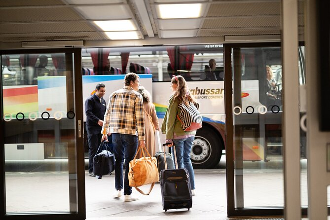 Book now for an affordable and easy transfer to Stockholm city. Don't waste time on arrival in Stockholm, book now to enjoy the piece of mind of a pre-paid Skavsta Airport Shared Arrival Transfer.