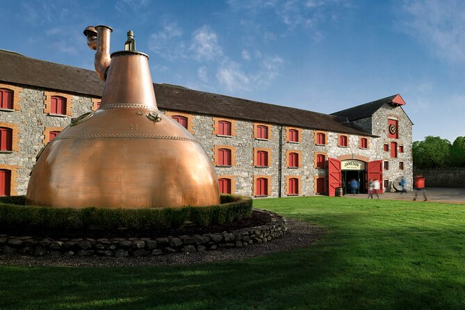 Trace the history of Irish whiskey through the ages at the Jameson Experience in Midleton, Cork. Take a guided tour around the well-preserved Jameson Distillery. Hear the story of John Jameson and the influential Jameson brand, the best-selling Irish whiskey in the world. Learn about the distillation processes and see the old kilns, mills and casks. Gain insight into the ancient art of making whiskey barrels, before finishing up in the Jameson Bar, where you can savor a complimentary taster of the popular spirit.