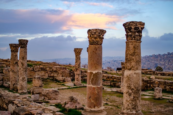 Private Amman Tour: King Abdullah Mosque, Roman Theater, and Citadel from Dead Sea, ,