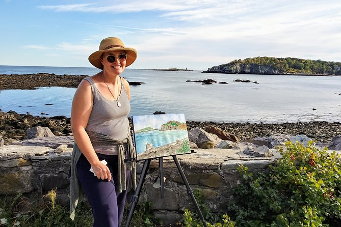 MAIS FOTOS, Private Half-Day Painting Adventure in Casco Bay Archipelago