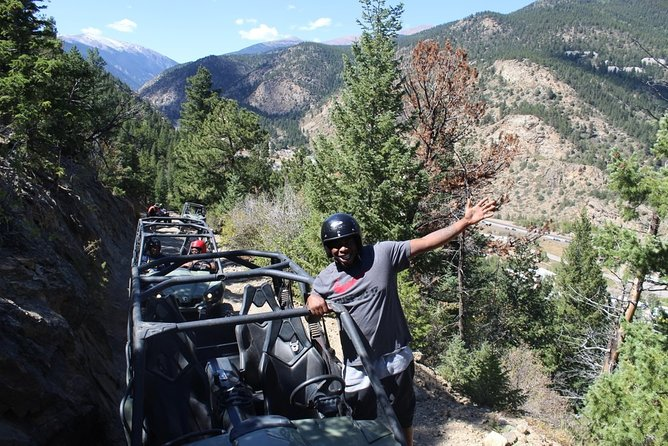 Ride the Rockies! Explore the surrounding area on a guided ATV trek on the Silver Creek trail located right down the street from our adventure park. This 2 hour trip through the mountains includes one of our guides for the first vehicle to lead the way, gear and safety equipment, and photos taken throughout the trip to purchase digitally afterwards.