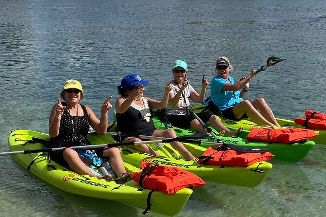 We have the newest rental equipment in Crystal River with top-notch customer service. Our kayaks are Crescent Kayaks, which are top-rated for stability and very easy to paddle as well.
