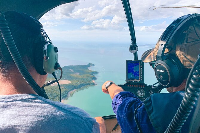 This helicopter tour provides a snapshot of Darwin's highlights and must see locations from above, providing fantastic perspective for further ground tours.