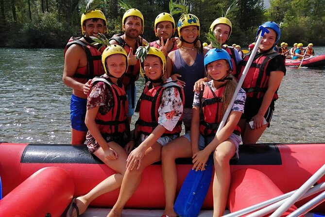 White water rafting activity is a popular attraction and outdoors sport in Antalya Turkey. The water comes clearly and cold. If you want to fresh your body and soul it's perfect way to enjoy.