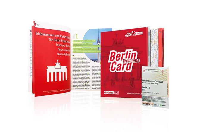 Berlin WelcomeCard (Including Public Transport & Discounts), Berlim, Alemanha