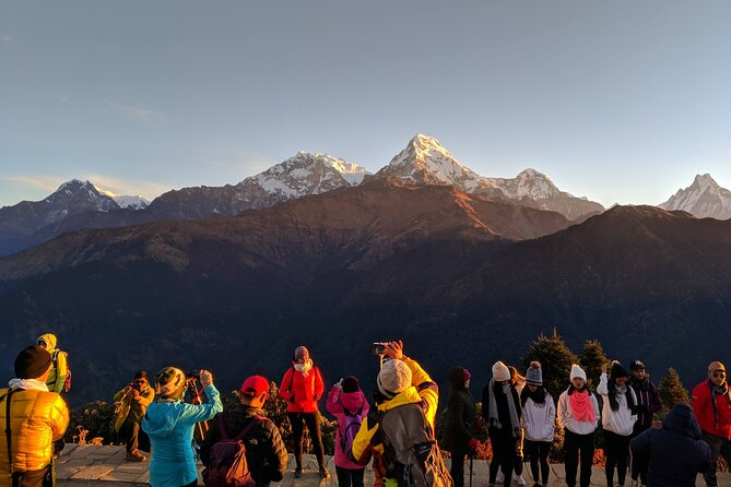Spend these days away from the city to disappear in the natural beauty of the mountain ranges and Nepalese villages. During this 4-days trek, with a professional guide, discover Nayapul, Trikhedhunga, Ulleri, Ghorepani, Poon Hill viewpoint and Ghandruk Gurung typical village. Transported by a private vehicle which driving to Nayapul through a scenic highway and ends at Nayapul. This Tour is limited to a maximum of 15 travelers.