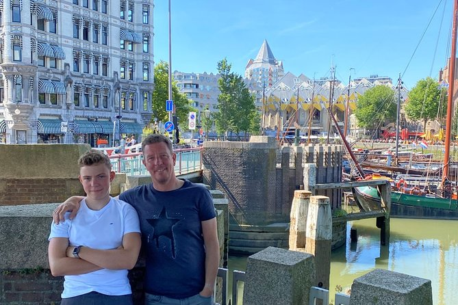 Rotterdam Private Tour: Old Town & Harbor Exploration Game With Puzzles, Rotterdam, HOLLAND