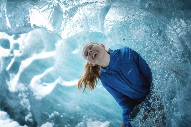 We are the only glacier tour company in Iceland to give you a professional photo package with your tour.
