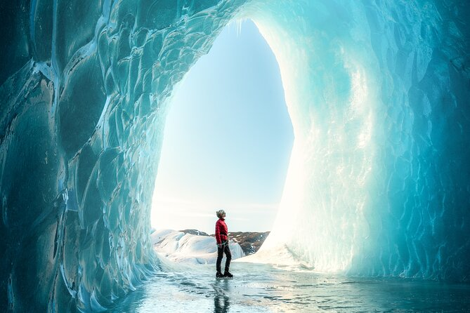 We are the only glacier tour company in Iceland to give you a professional photo package with your tour. This private tour will be the best option to get the full glacier experience while having your own personal photographer with you to capture it.