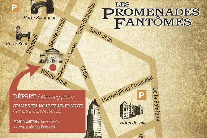Interactive Street Theatre Crimes in New France, Quebec, CANADA
