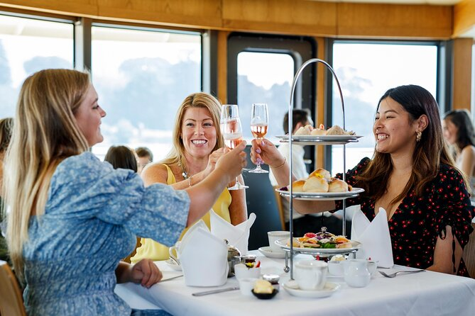 Ladies and gentlemen: All aboard for High Tea at sea! Start your Sydney Harbour cruise in style with a glass of sparkling wine. Your tea is served with a delicious assortment of hot and cold treats that will tempt both your sweet tooth and savory tastes. Select the best available seating or opt for a guaranteed window seat for unobstructed views.