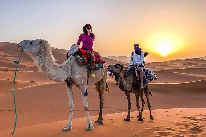 This private 5 days tour explores the five Imperial cities. Casablanca, as the economic capital, Rabat as the political capital, Meknes, Fez as the cultural capital andMarrakech as the touristiccapital. It includes a trip to the Merzouga Desert complete with a camel ride for an overnight stay in a nomad camp.