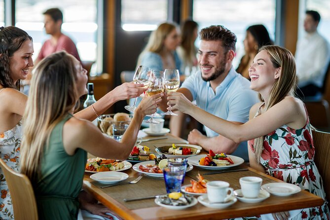 Cruise aboard Sydney Harbour on Sydney's flagship MV Sydney 2000. Enjoy stunning views of Sydney Harbour from the upper deck with optional guranteed window seating, superb dining and attentive service.