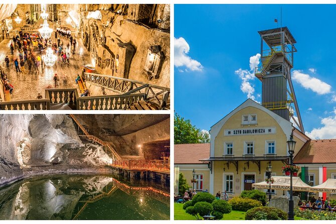 Uncover paths of the underground corridors during our half-day, 4- hour trip from Krakow where it all begins. After 30 - 40 minutes drive you will get to the Wieliczka Salt Mine and join English guide. The guide will bring you closer to the history of the place and will show you the most important places in the underground world. Guided tour in Wieliczka Salt Mine usually takes around 2 - 2.5 hrs. During the tour you will be able to visit St Kinga's Chapel - 54 m long and almost 12 m high chapel resembles interiors of medieval wooden churches and is a real underground wonder with breathtaking chandeliers made of salt crystals, underground corridors and landscapes that cannot be seen on the surface saline lakes and beautiful underground chambers. On a standard touristic route visitor have to walk around 800 stairs - 400 at the entrance. After the tour our driver will drive you back to Krakow.