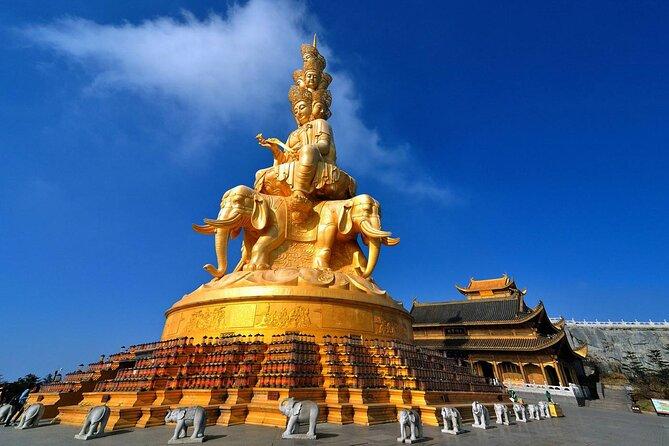 MÁS FOTOS, 950 USD Per Group 3-days Emei Mountain+Leshan Giant Buddha private tour